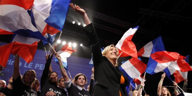 Marine Le Pen a présenté son