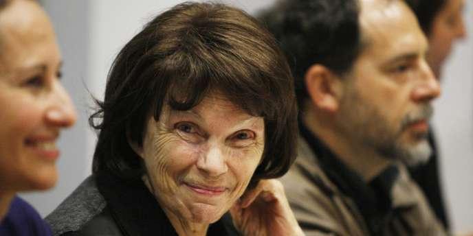 Danielle Mitterrand le 2 octobre 2009.