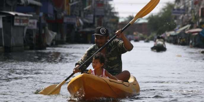 A l'automne 2011, la Thaïlande endurait les pires inondations qu'elle ait connues en cinquante ans.