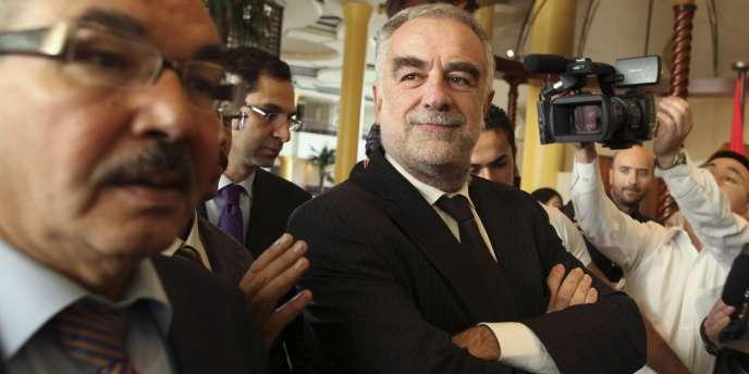 Le procureur de la CPI, Luis Moreno-Ocampo, à Tripoli, le 22 novembre.
