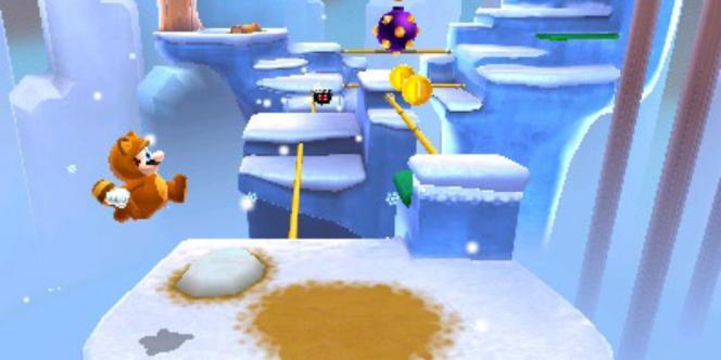 Super Mario 3D Land, sur Nintendo 3DS.