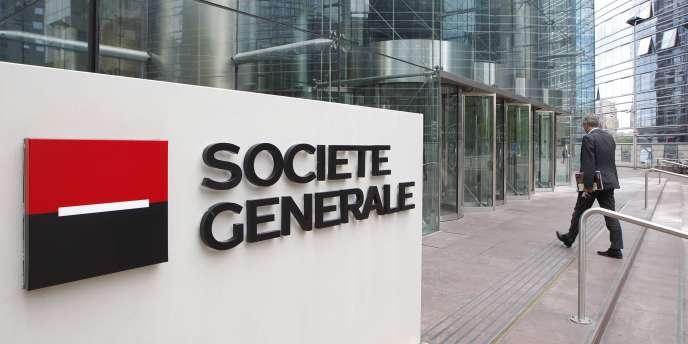 Le siège de la Société générale, à laDéfense.
