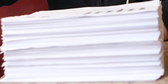 Le fac-similé du dossier contenant toutes les informations transmises par Facebook à Max Schrems.