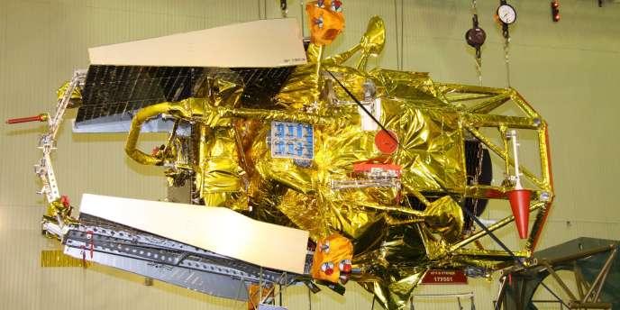 Vue de la sonde, avant son lancement.