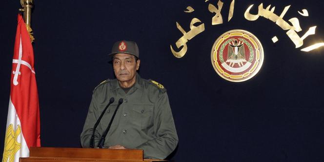 Le maréchal Hussein Tantaoui assurait la transition au pouvoir en Egypte.