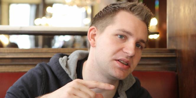 Max Schrems, le 8 novembre, au café Ritter à Vienne.