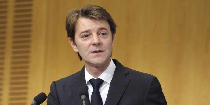 Le ministre de l'économie François Baroin,