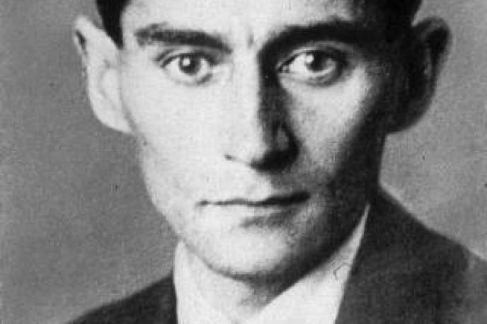 Photo non datée de Franz Kafka.