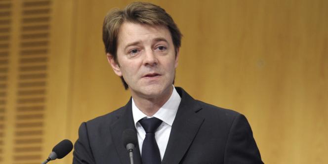 Le ministre de l'économie français François Baroin, le 23 novembre 2011.