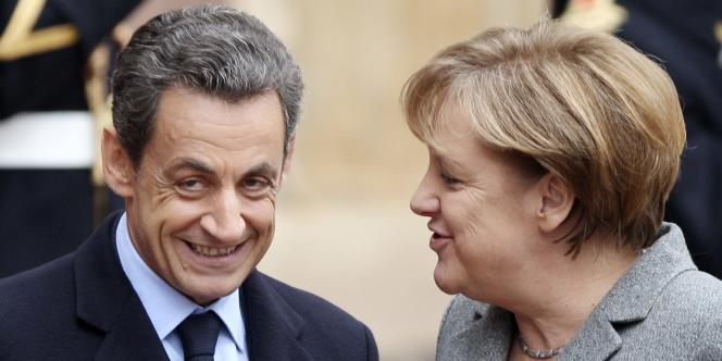 Nicolas Sarkozy et Angela Merkel à Strasbourg, le 24 novembre.