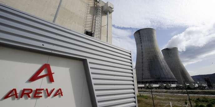 La centrale nucléaire d'Areva au Tricastin, entre la Drôme et le Vaucluse.