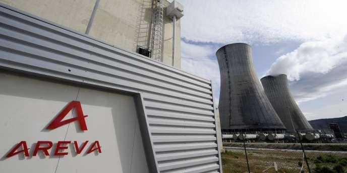 Le site nucléaire français du Tricastin (Pierrelatte).