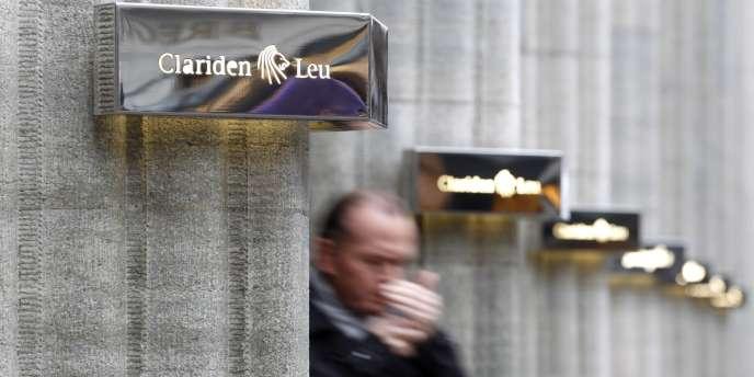 La banque privée Clariden Leu, à Zurich.