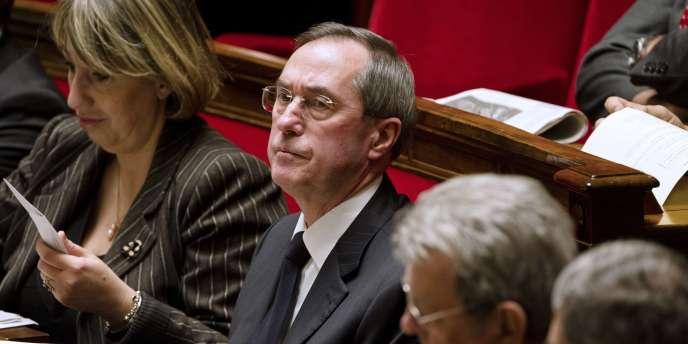 Claude Guéant à l'Assemblée nationale à Paris, le 15 novembre 2011.