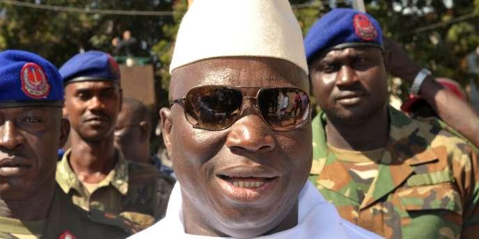 Yahya Jammeh a été réélu président de la Gambie le 24 novembre 2011.
