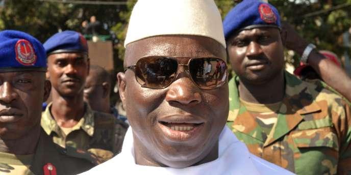 Le président gambien, Yahya Jammeh, a été réélu lors de l'élection présidentielle à tour unique du 24 novembre 2011 avec 72 % des voix.