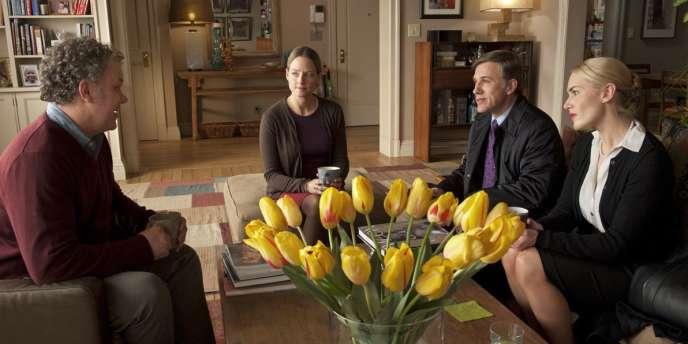 John C. Reilly, Jodie Foster, Christoph Waltz et Kate Winslet dans le film français de Roman Polanski,