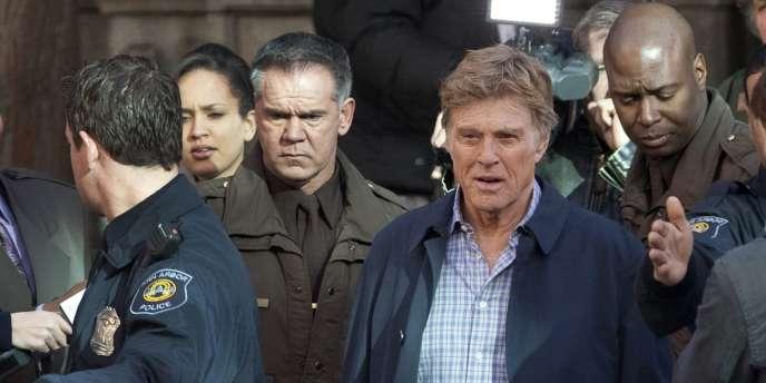 Robert Redford, sur le tournage du film