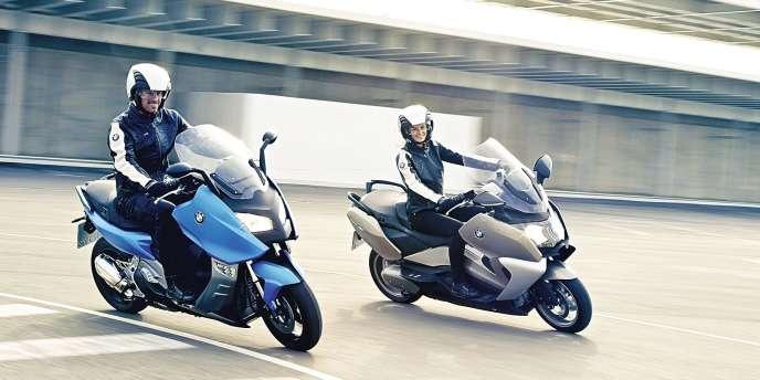 Même BMW s'y met, avec les modèles C600 et C650GT.Photo:Daniel Kraus/BMW