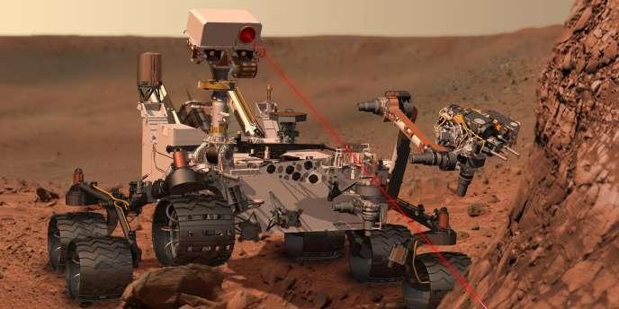 Le rover américain est l'engin le plus complexe jamais lancé à l'assaut de la Planète rouge. Il a pour mission d'en analyser les roches afin de déterminer si elle a pu être un jour