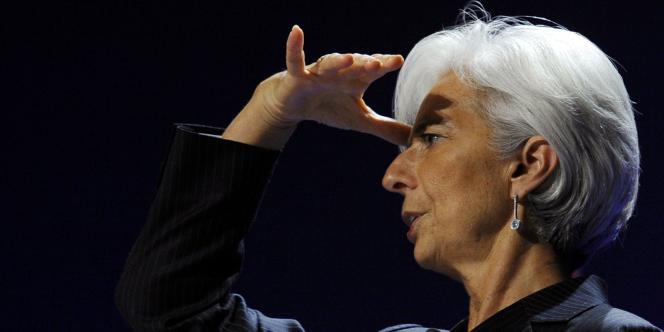 Les 188 ministres des finances et leur gouverneur de banque centrale, réunis à Washington du 18 au 21 avril, se sont montrés très inquiets de la dépression qui affecte l'économie européenne à l'occasion de l'assemblée générale du FMI. En photo, Christine Lagarde, présidente du FMI.