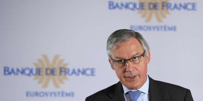 Christian Noyer, le gouverneur de la Banque de France.