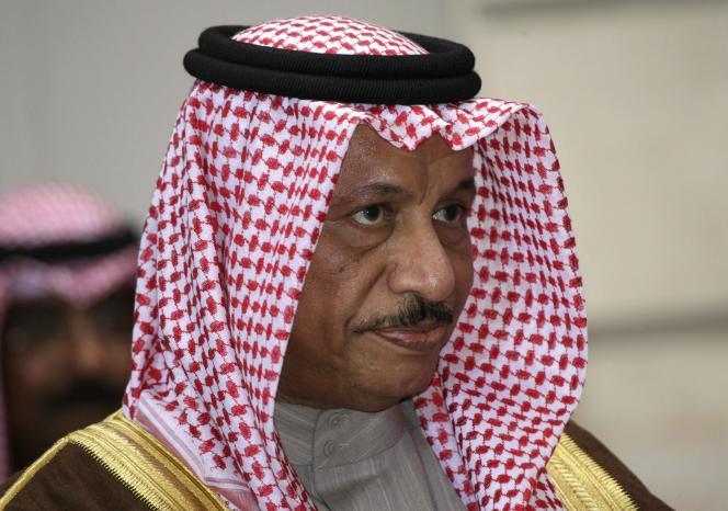 Le cheikh Jaber Al-Moubarak Al-Hamad Al-Sabah a été nommé premier ministre par l'émir du Koweït, le 30 novembre.