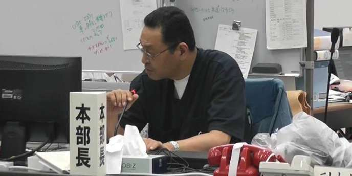 Masao Yoshida, directeur de la centrale, le 30 mai 2011.