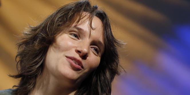 La pianiste Hélène Grimaud à New York, le 25 janvier 2011.