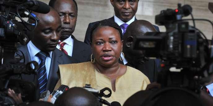 La Gambienne Fatou Bensouda a succédé, en 2011, à Luis Moreno-Ocampo, à la tête de la CPI.