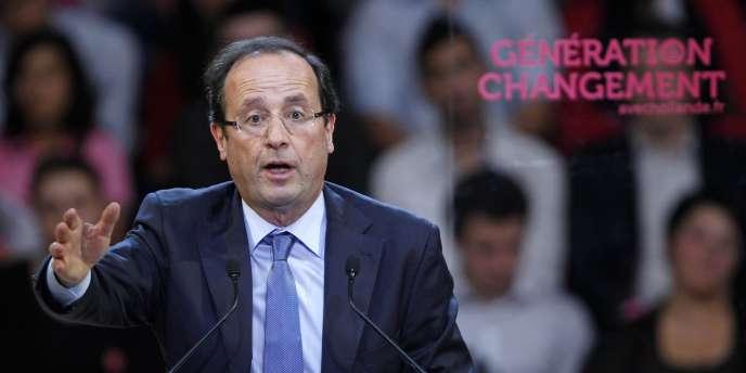 François Hollande à Strasbourg, le 19 novembre.