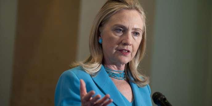 La secrétaire d'Etat Hillary Clinton estime que le film