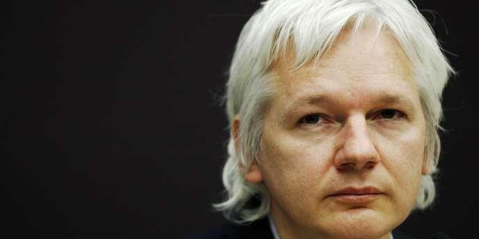 Julian Assange, en décembre 2011 à Londres.