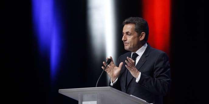 Nicolas Sarkozy à Toulon, jeudi 1er décembre 2011.