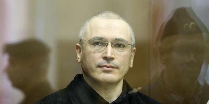 Mikhaïl Khodorkovski à l'occasion de son second procès, le 14 octobre.