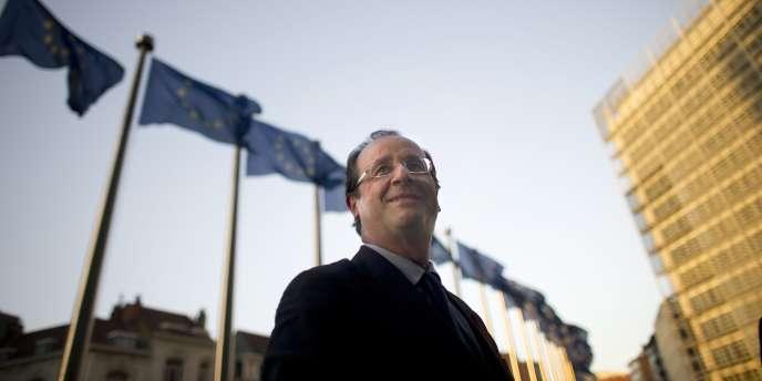 François Hollande, à Bruxelles, le 30 novembre 2011.