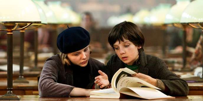 Chloe Moretz et Asa Butterfield dans le film américain de Martin Scorsese,