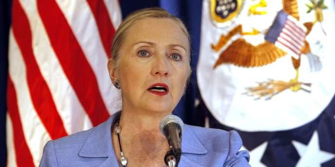 La secrétaire d'Etat américaine Hillary Clinton, le 2 décembre 2011.