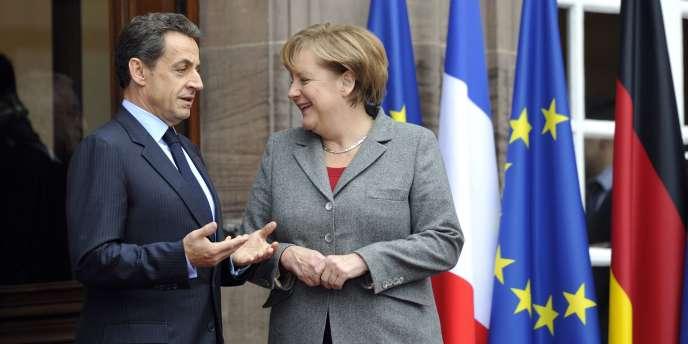 Nicolas Sarkozy et Angela Merkel, le 24 novembre.