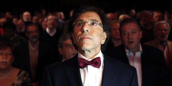 Le leader du Parti socialiste, Elio di Rupo, lors d'un meeting à Bruxelles, le 4 décembre 2011.