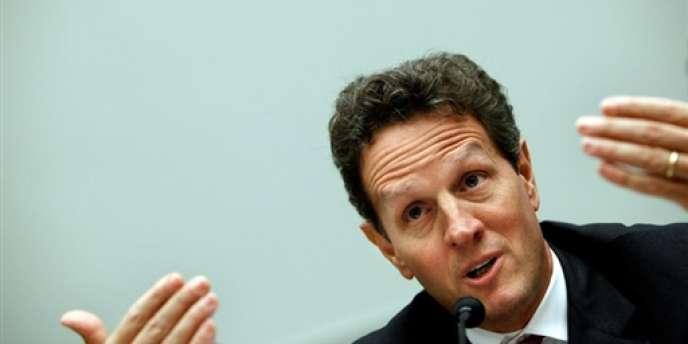 Timothy Geithner, le secrétaire d'Etat américain au Trésor.