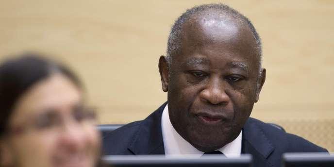 Laurent Gbagbo, le 5 décembre 2011, à La Haye.