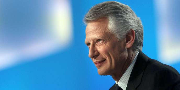 Dominique de Villepin, le 25 mars 2010, à Paris.