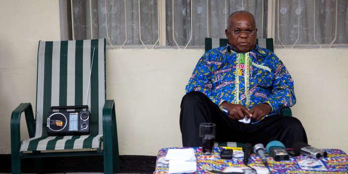 Etienne Tshisekedi, principal opposant du président sortant Joseph Kabila, conteste les résultats provisoires.