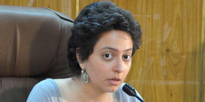 La militante des droits de l'homme syrienne Razzan Ghazzawia été libérée le 18 décembre.