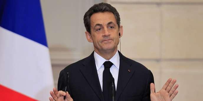 Nicolas Sarkozy le 5 décembre 2011.