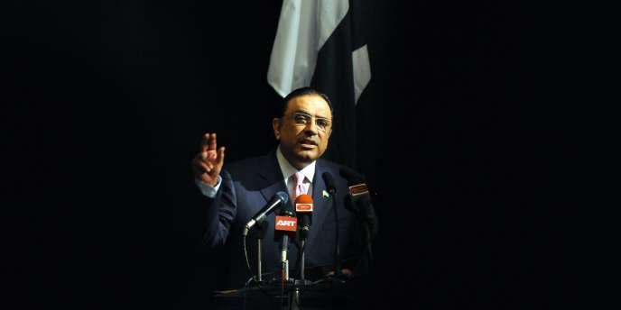 Le président pakistanais, Asif Ali Zardari, le 29 novembre.
