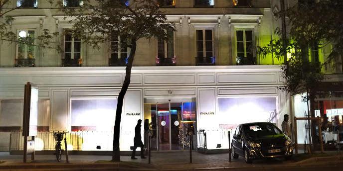 Pour une soirée à l'hôtel Murano, à Paris, Florence V. a admis qu'elle et une de ses amies libertines se partageaient une enveloppe de 1600 euros.