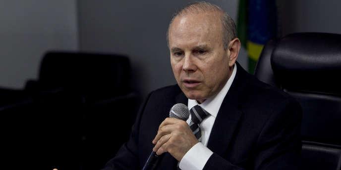 Le ministre des finances brésilien, Guido Mantega.