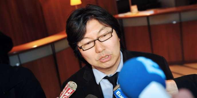 Jean-Vincent Placé, sénateur EELV, le 15 mars 2011.